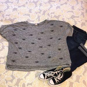 Anthropologie Eye Shirt Size XL